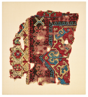 Two Fragments of a Star Medallion Carpet