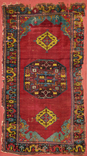 Rug with Zoomorphous Central Medallion