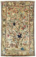 Kerman Silk Carpet