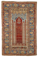 Ghiordes Prayer Rug